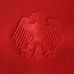2007-09 Away, eagle emblem