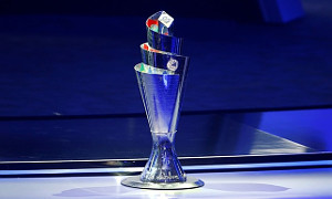 The UEFA Nations League Trophy